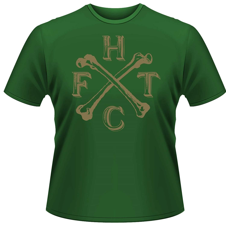 Frank Turner S T Shirt Green England Keep My Bones