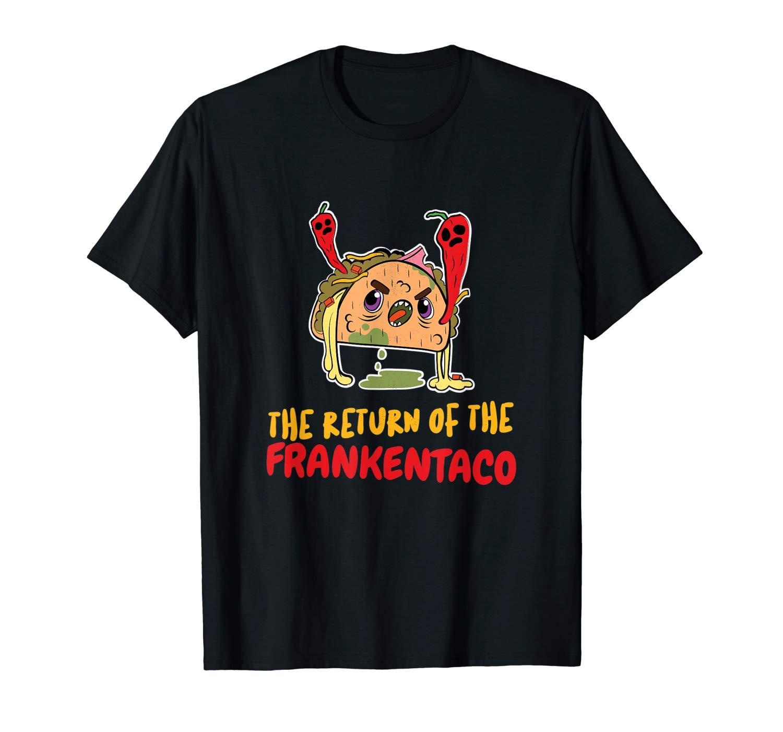 Frankenstein Shirt Frankentaco Taco Shirts Funny Halloween T Shirt
