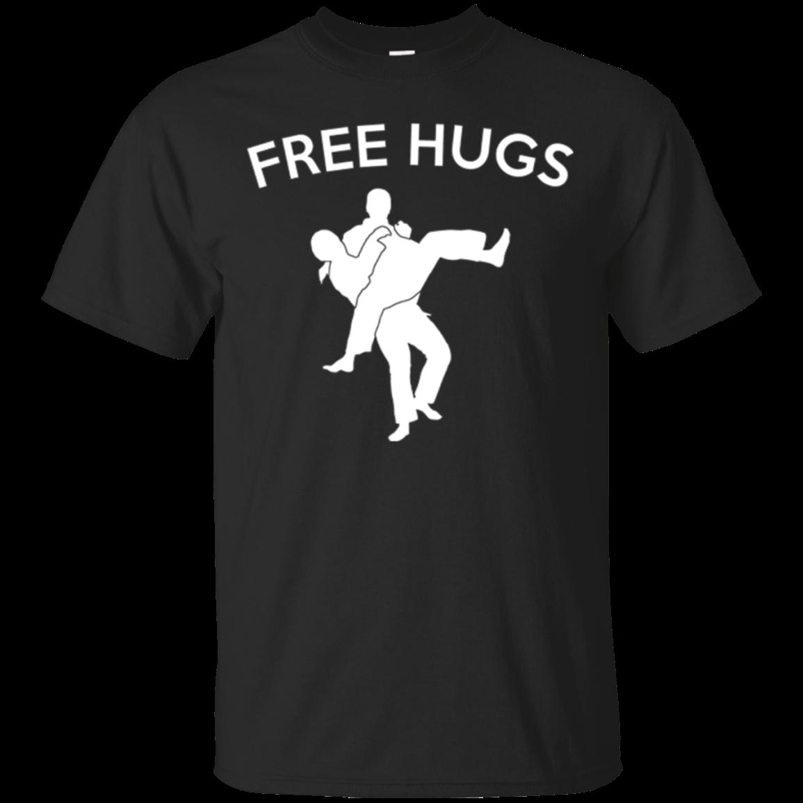 Free Hugs Jiu Jitsu T Shirt