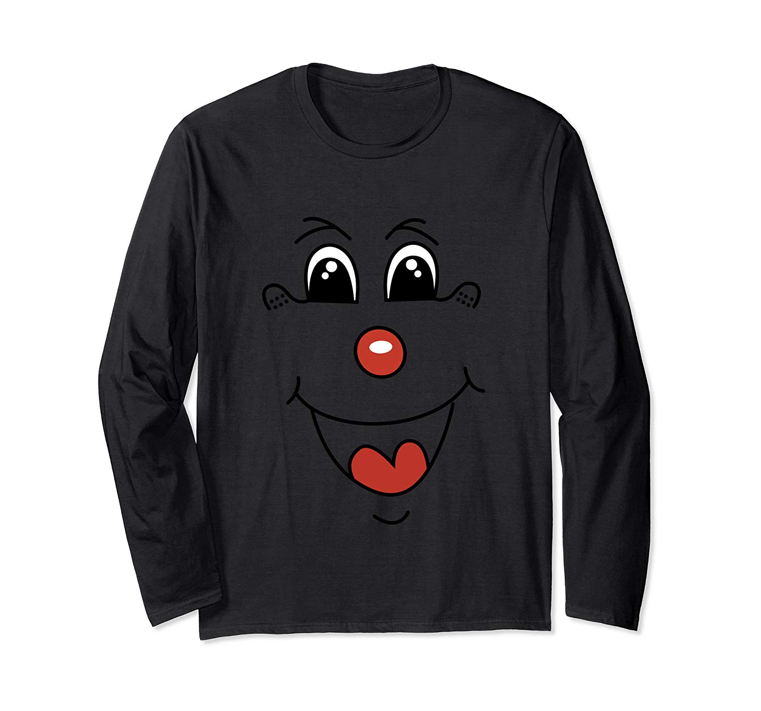 Funny Clown Face For T Shirt