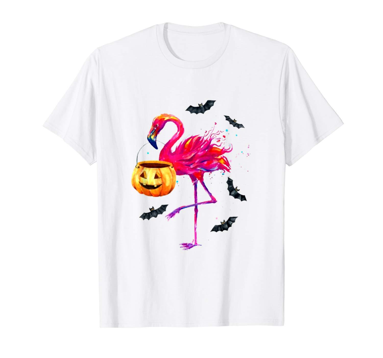 Funny Flamingo Halloween T Shirt