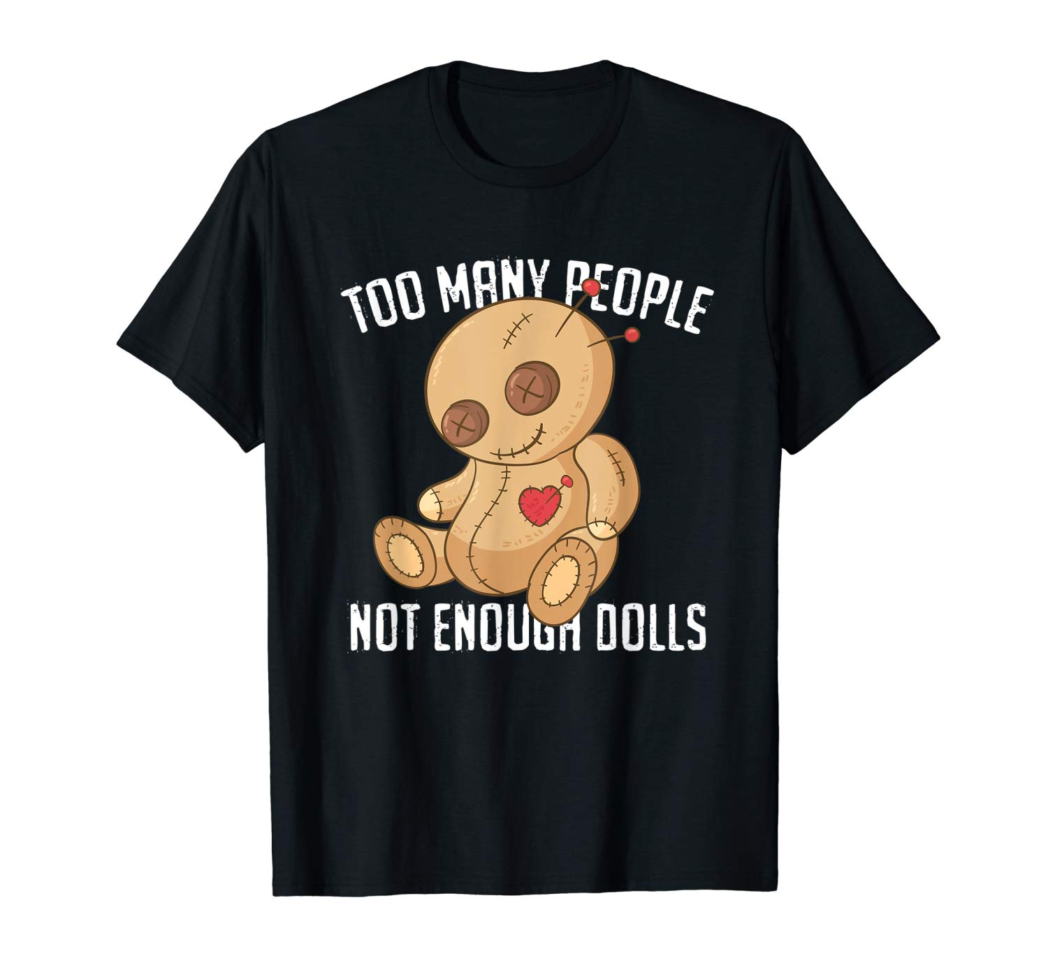 Funny Halloween Shirts Gifts For Girls Voodoo Doll T Shirt