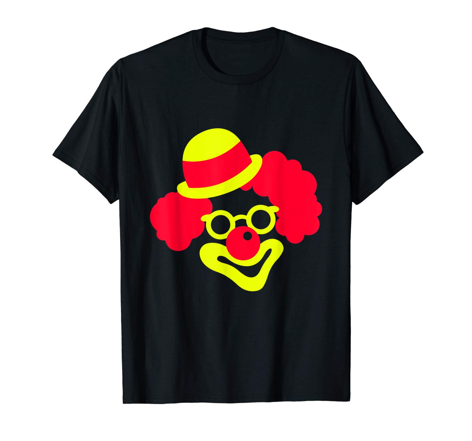 Funny Horror Halloween Clown Face Scary Tshirt Gifts