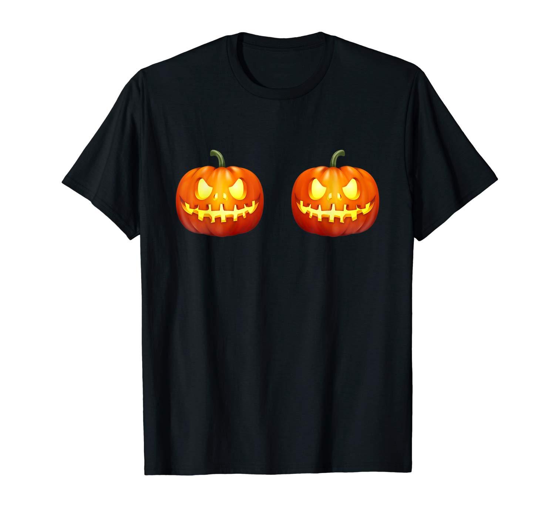 Funny Pumpkin Tee Halloween T Shirt For Man And Woman