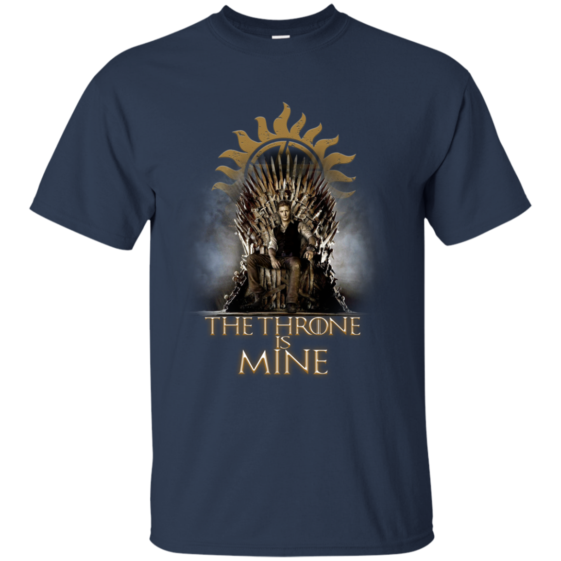 Game Of Thrones Dean Winchester The Throne Is Mine S S Shirts