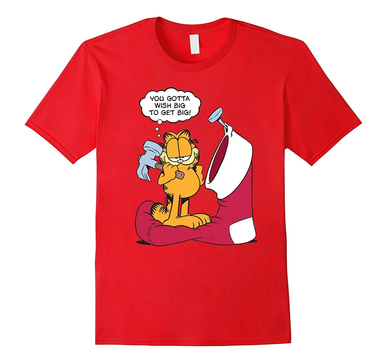 Garfield Wish Big To Get Big Shirts