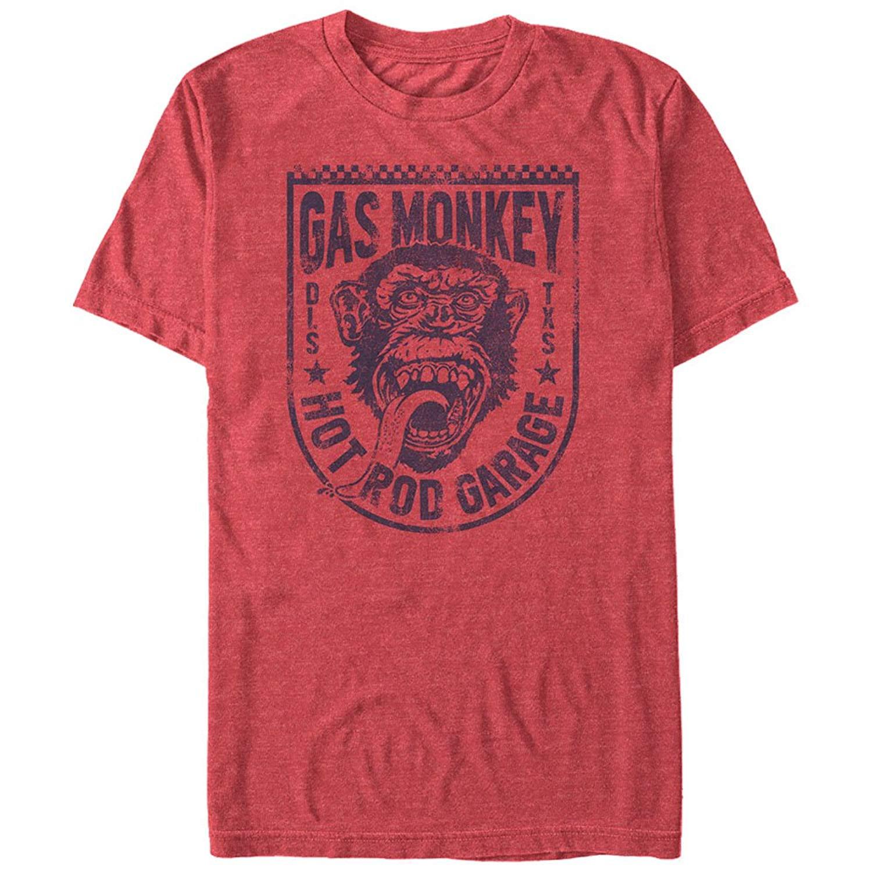 Gas Monkey Shield T Shirt