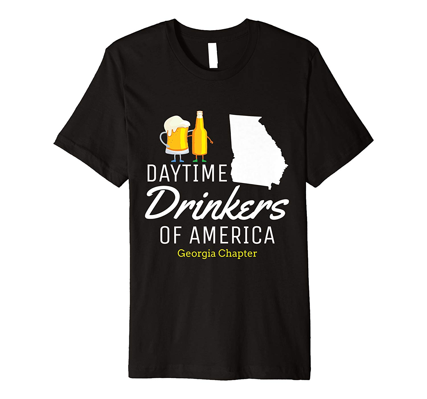 Georgia Day Drinking Funny Beer Drinking Shirts