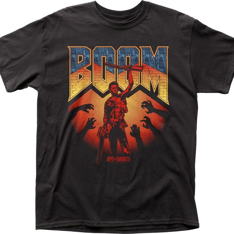 Get Here Boom Army Of Darkness T Shirt