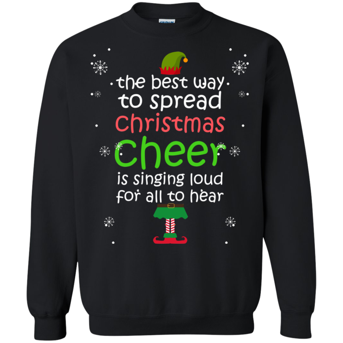 Get Here The Best Way To Spread Christmas Cheer Elf Shirts