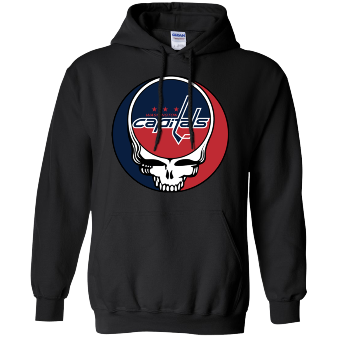Get Here Washington Capitals Hockey Grateful Dead Steal Your Face Shirt