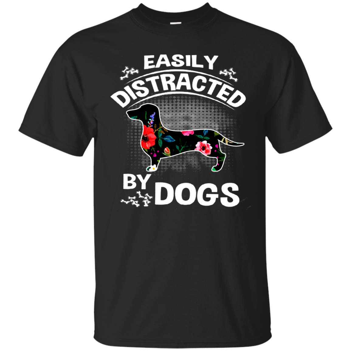 Dachshund Easily Distracted By Dogs T Shirt Sweater