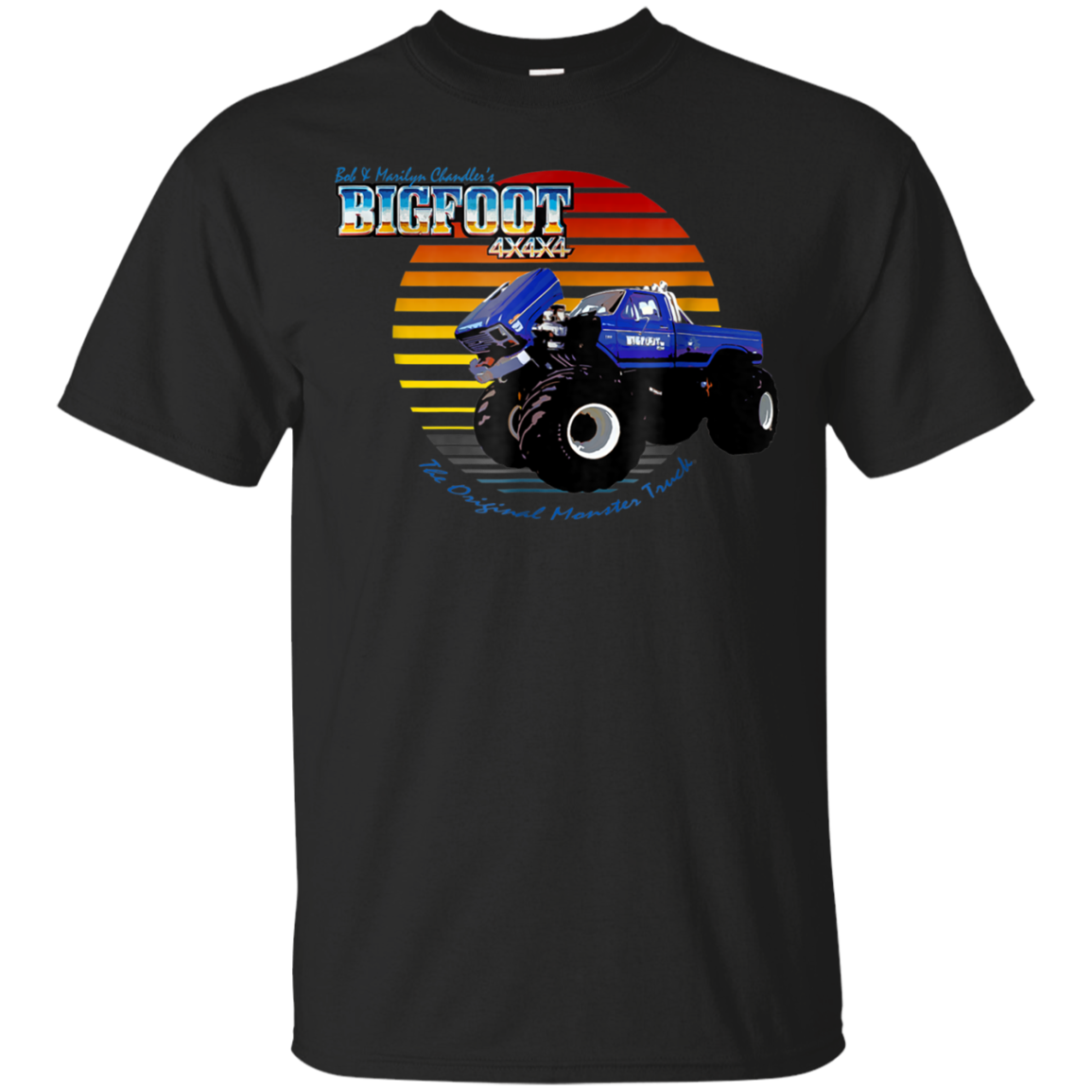 Retro Sunset T Shirt Tula Store