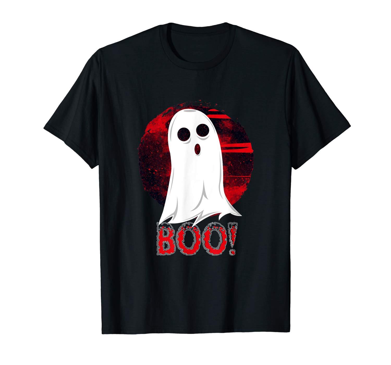 Ghost Boo Halloween T Shirt