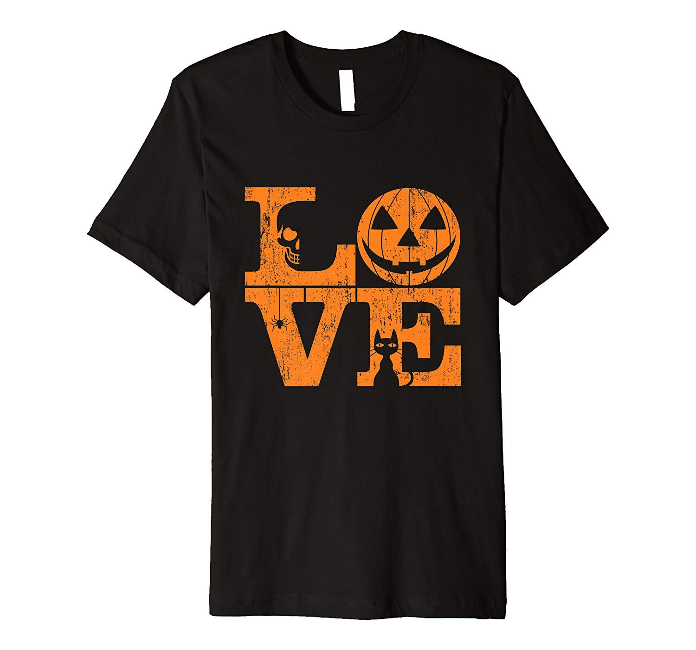 Girls True Love Halloween Night Creepy Cute Fun Gift Shirts