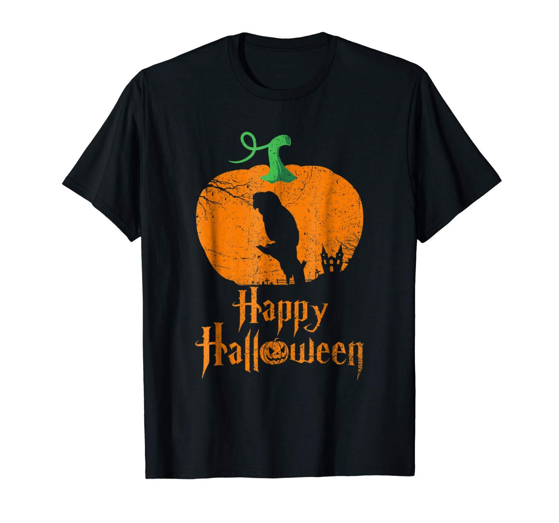 Goffin S Cockatoo In Pumpkin Happy Halloween T Shirt