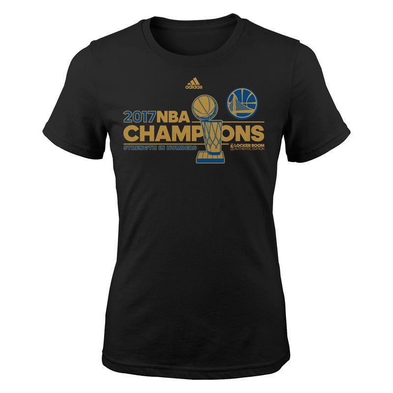 Golden State Warriors Girls 2017 Nba Finals Champions Locker Room B Shirts