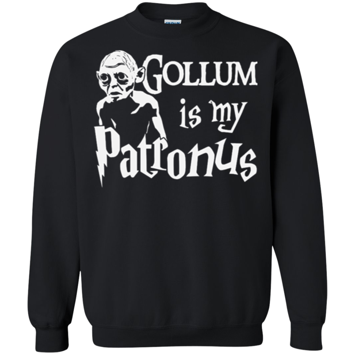 Gollum Is My Patronus Lord Of The Rings Harry Potter T Shirt