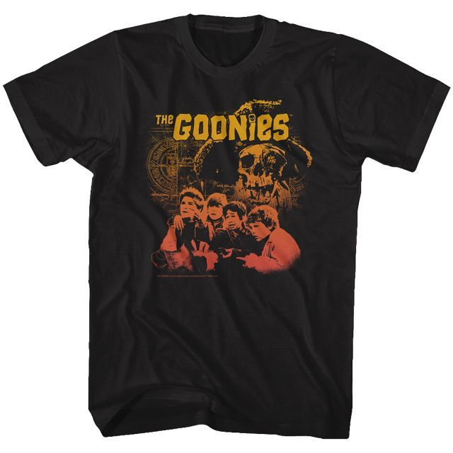 Gradient Collage Goonies Movie At 80ss Shirts