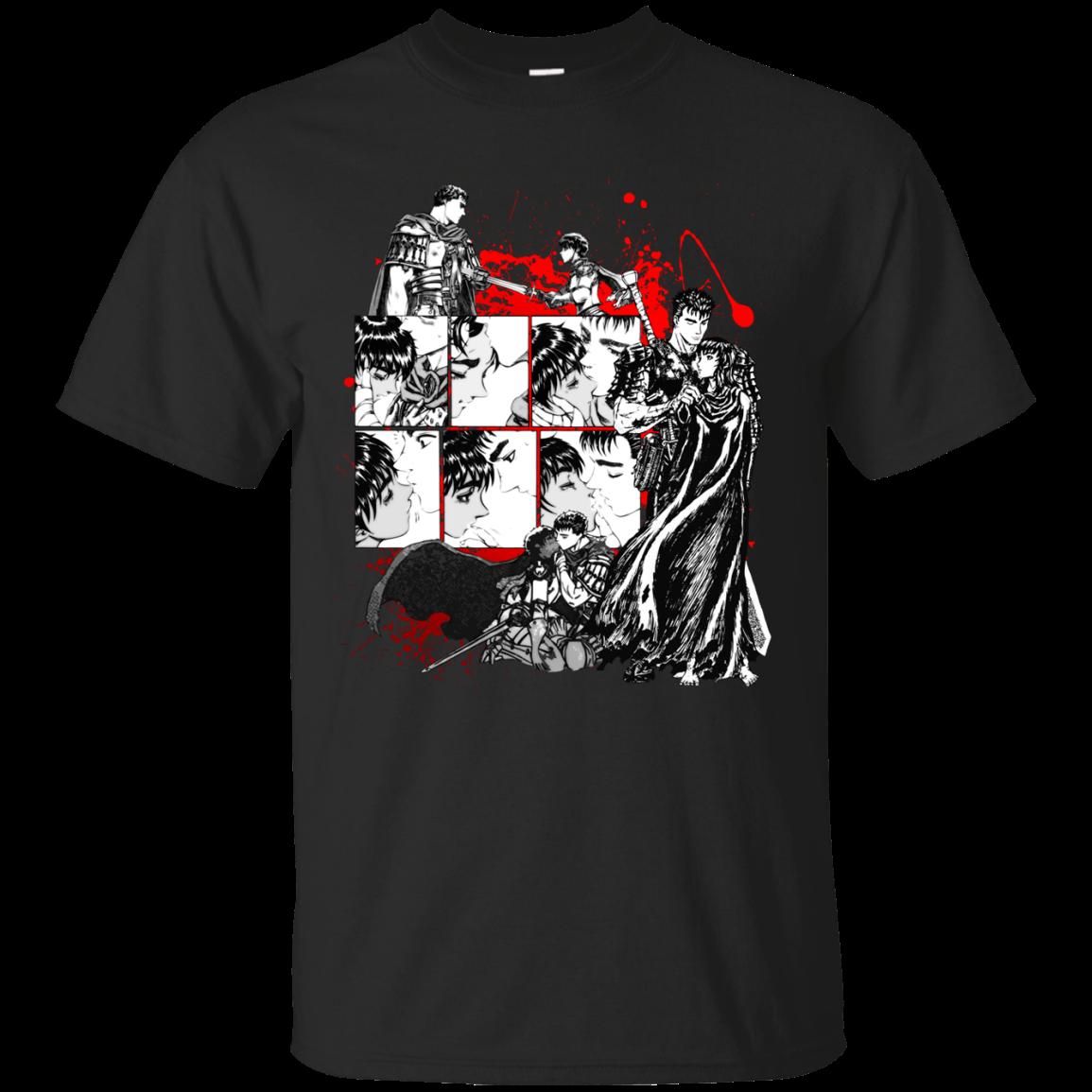 Guts And Caska From Berserk T Shirt