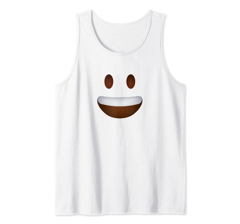 Half Th Grin Happy Smiling Emoji Emoticon Smileys Shirts