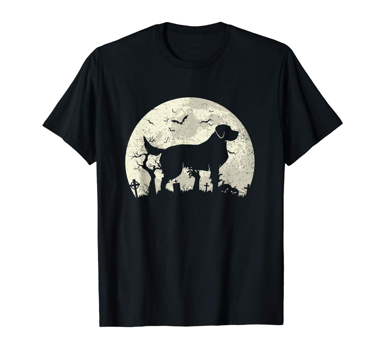 Halloween Golden Retrievers T Shirt Golden Retrievers Dog T Shirt