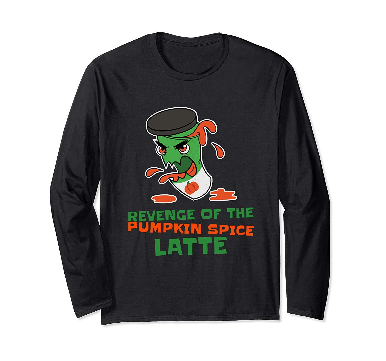 Halloween Graphic Shirts Pumpkin Spice Latte Funny Halloween T Shirt