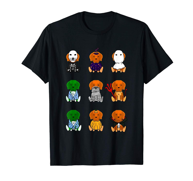 Halloween Shirt Chesapeake Bay Retriever T Shirt