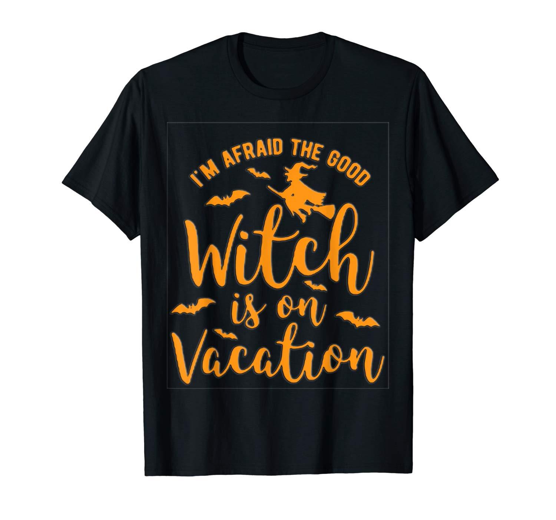 Halloween Shirt Good Witch On Vacation T Shirt Shirt
