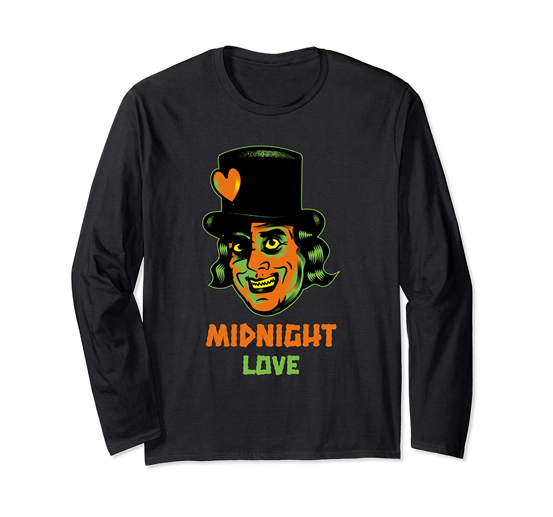 Halloween Shirt Midnight Love Vampire Tees Halloween Monster T Shirt