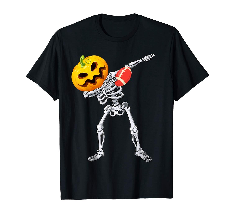 Halloween Shirts For Dabbing Skeleton Pumpkin Gift T Shirt