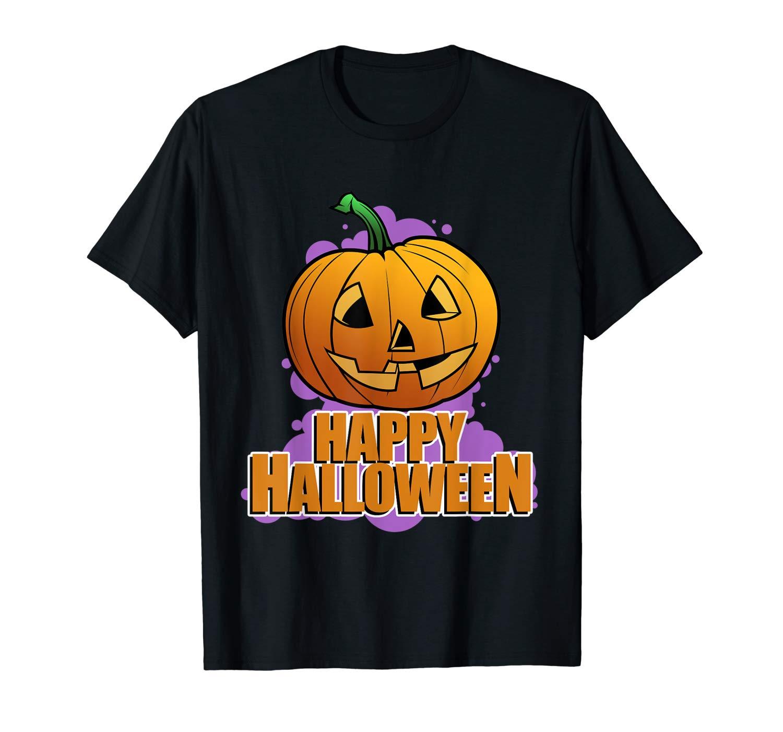 Happy Halloween Shirt Jack O Lantern Pumpkin T Shirt