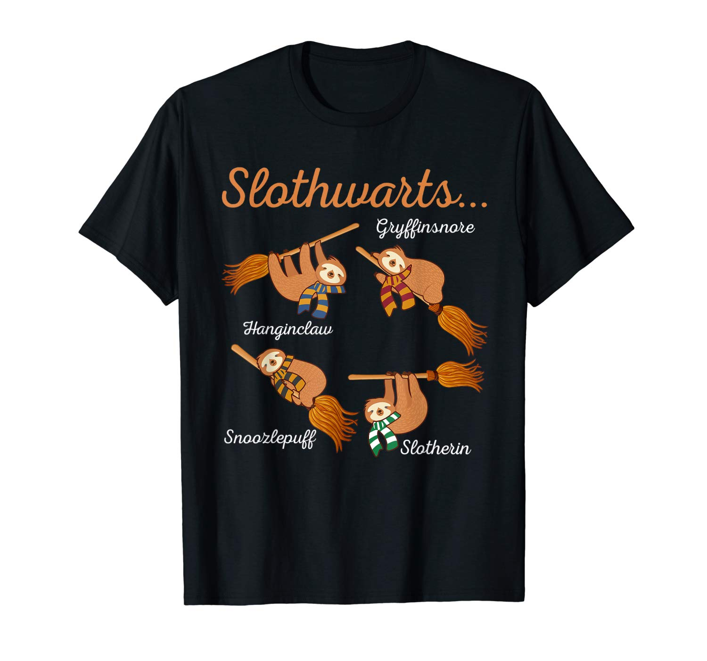 Harry Slothwarts Sloth Shirt Gift For Birthday Halloween