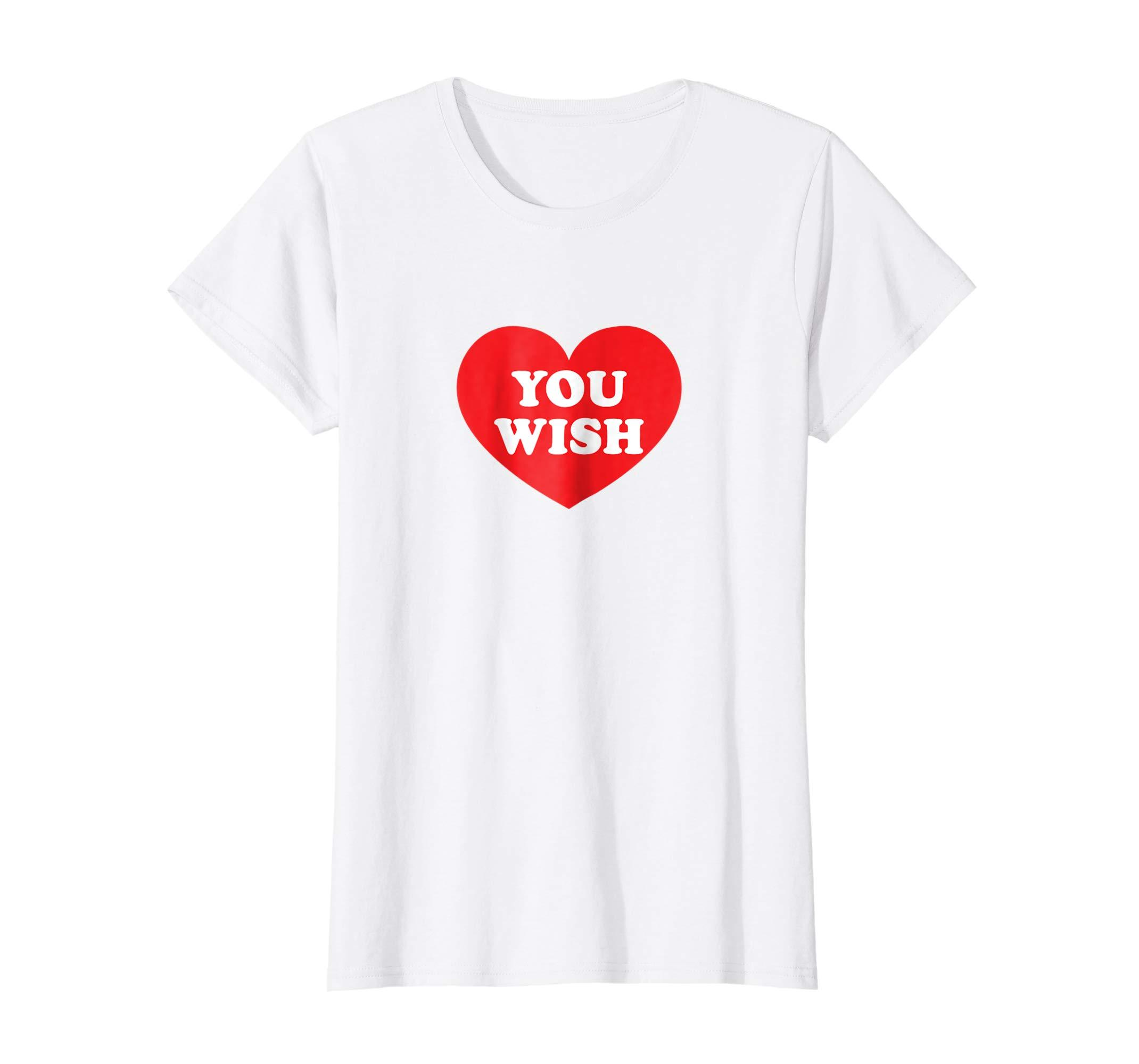 Heart Shaped You Wish T Shirt