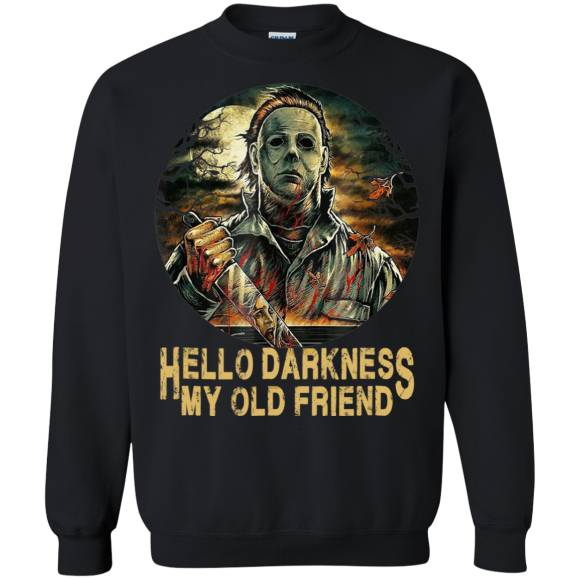Hello Darkness My Old Friend Michael Halloween Myers Shirts