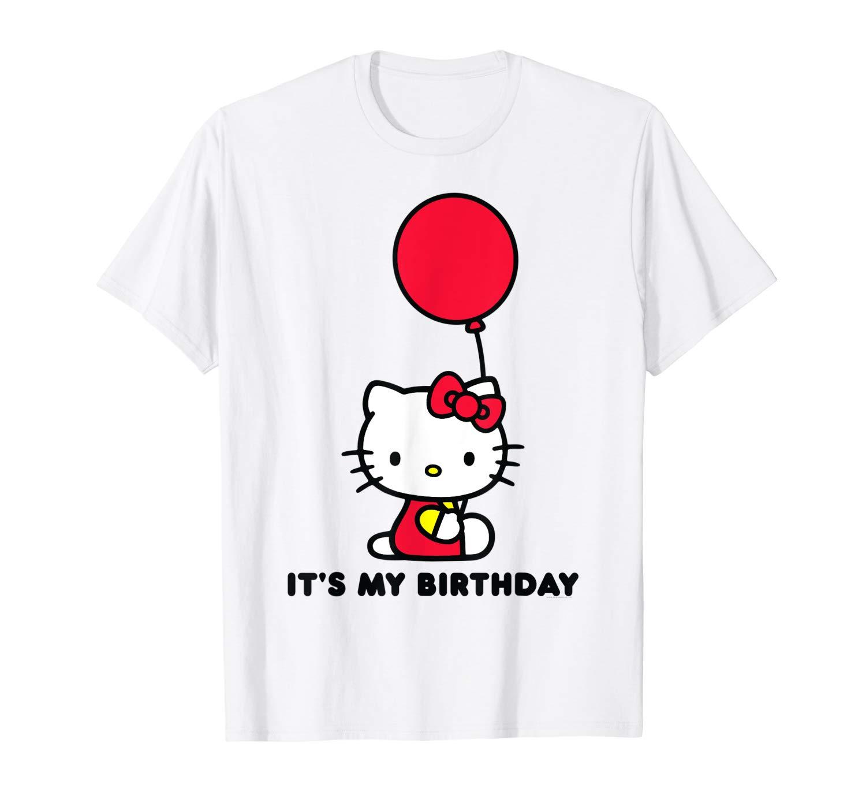 Hello Kitty Its My Birthday T Shirt