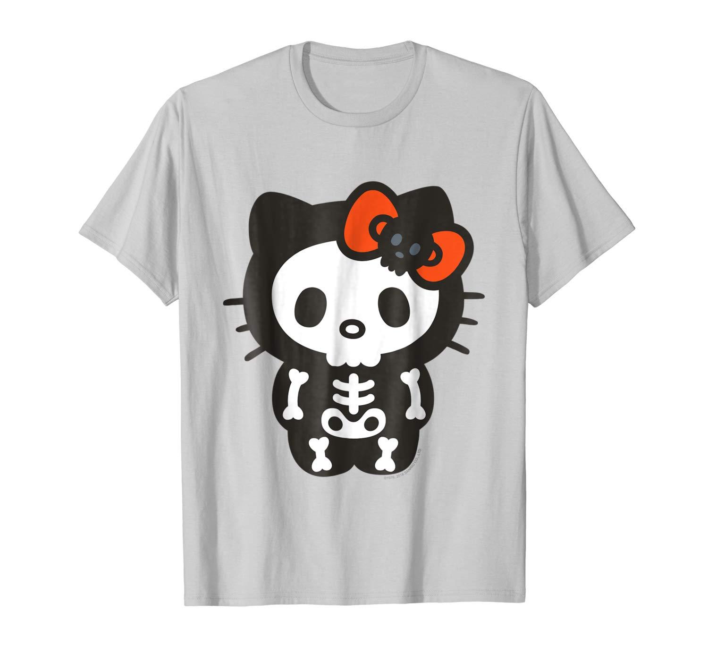 Hello Kitty Skeleton Halloween T Shirts