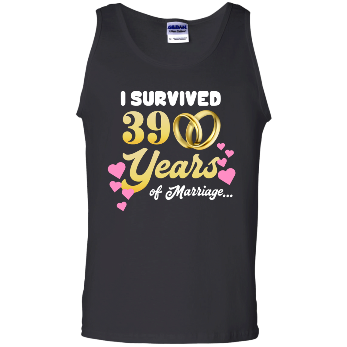 High Quality Cute I Survived 39 Years Of Marriage Cool Wedding Anniversary Shirt Ta