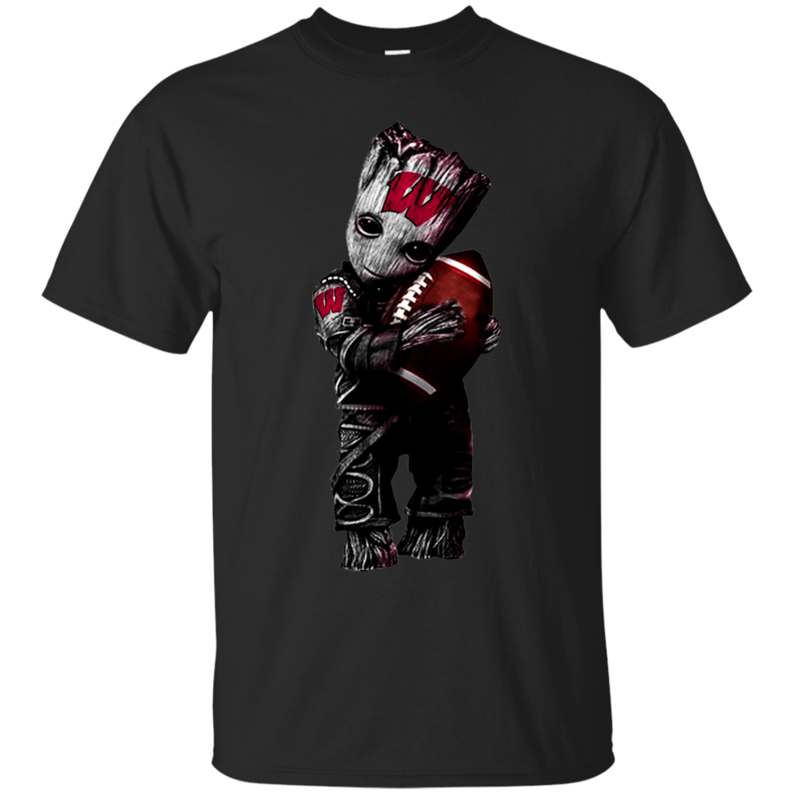 High Quality Groot Loves Wisconsin Badgers T Shirt Sweater