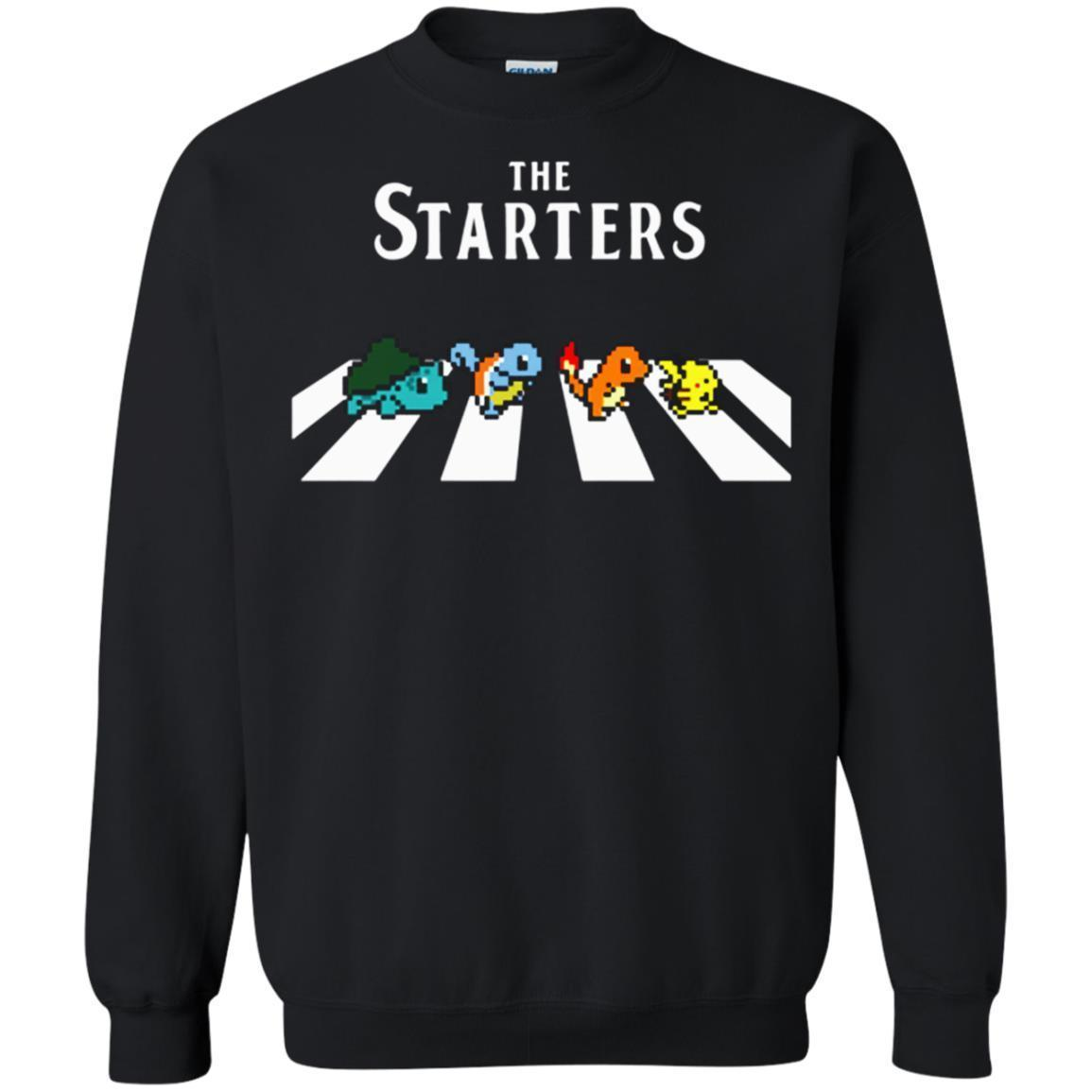 High Quality The Starters Abbey Road Pokemon Shirts