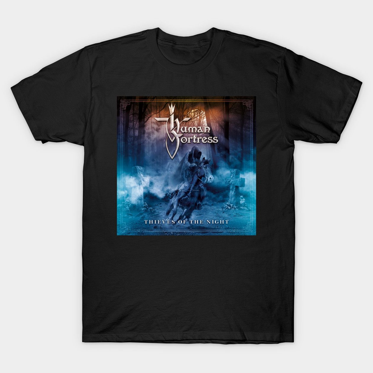 Human Fortress Thieves Of The Night Heavy Metal Classic Shirts