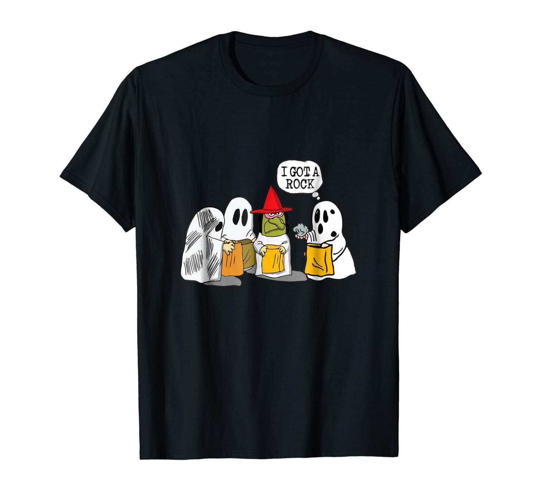 I Got A Rock Funny Trick Or Treat Halloween Squad T Shirt