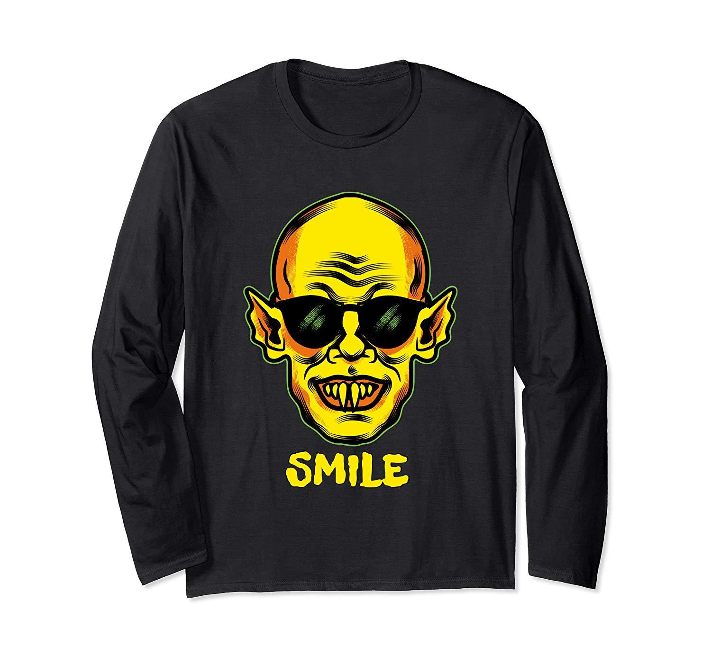 I M Fine Shirt You Smile Zombie Halloween Vampire Graphic T Shirt