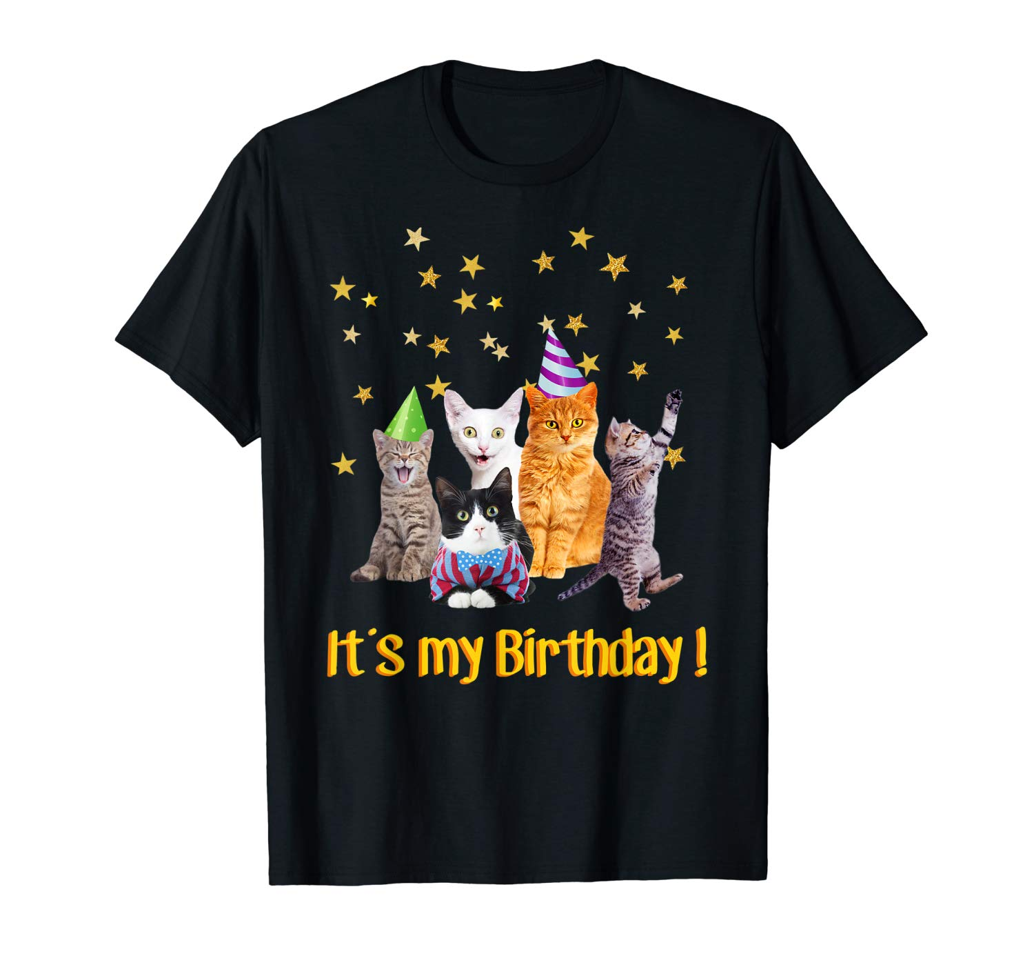 Its My Birthday Cute Cats Meow T Shirt