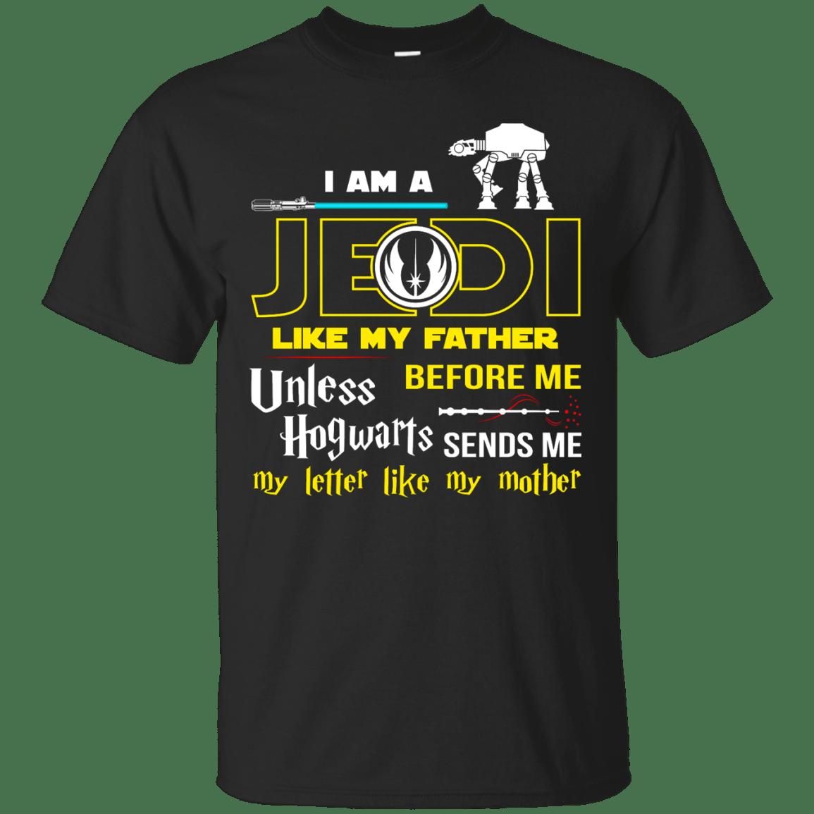Jedi Father Hogwarts Mother Shirts