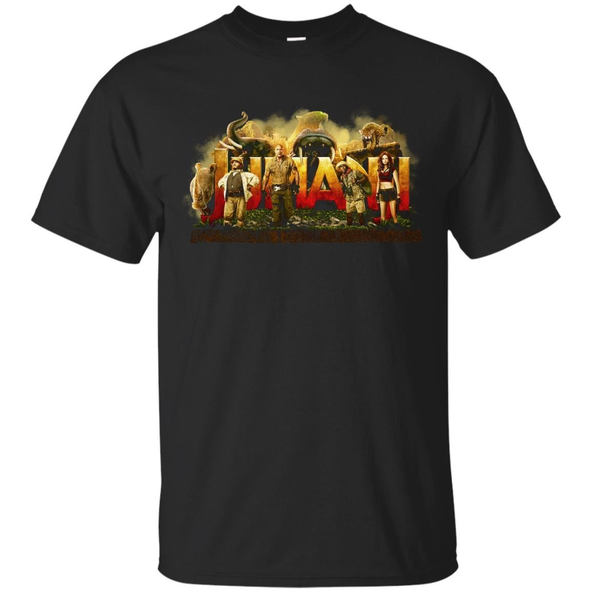 Jumanji Welcome To The Jungle T Shirt