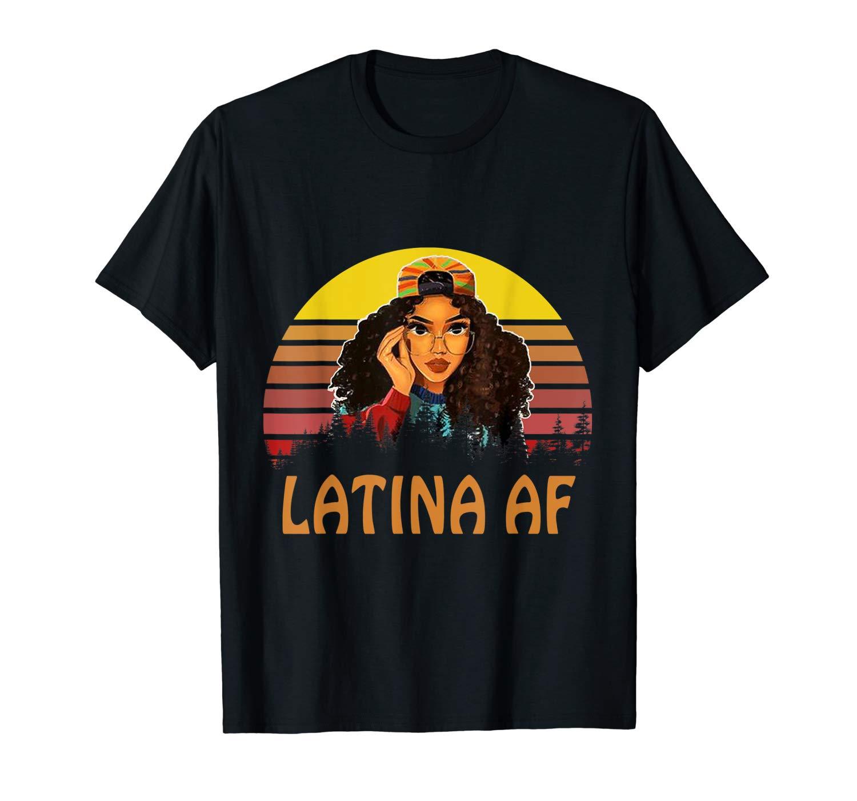 Latin Vintage Retro Sunset Latinas Latino Pride Cute T Shirt