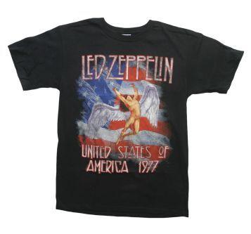 Led Zeppelin America 1977 Shirts