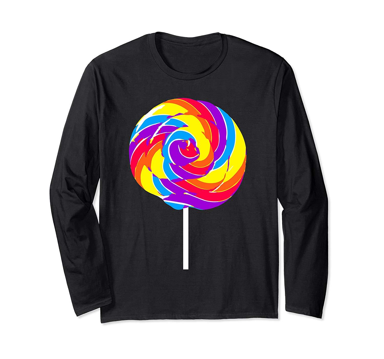 Lollipop T Shirt Rainbow Sucker Candy Tshirt