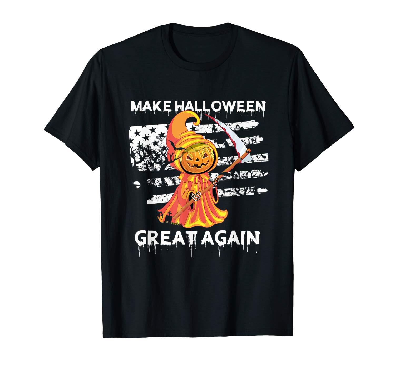Make Halloween Great Again Shirt Trumpkin Tshirt Gifts